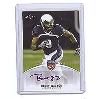リーフBobby Wagner 2012 Young Stars認定Autographedルーキーカード。Seattle Seahawks 。