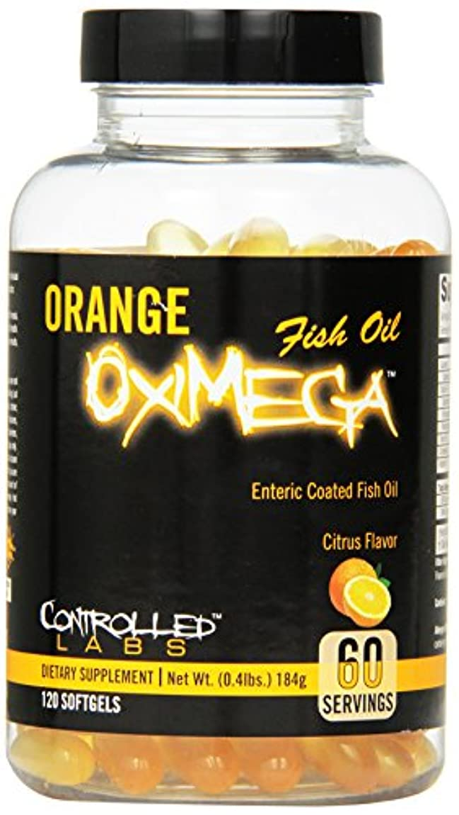 センチメートル豊かなモンスター海外直送品CONTROLLED LABS Orange Oximega Fish Oil, Citrus Flavor, 120 SoftGels