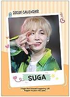 シュガ SUGA (防弾少年団/BTS) 2020年 (令和2年) K-STAR フォト 卓上カレンダー グッズ