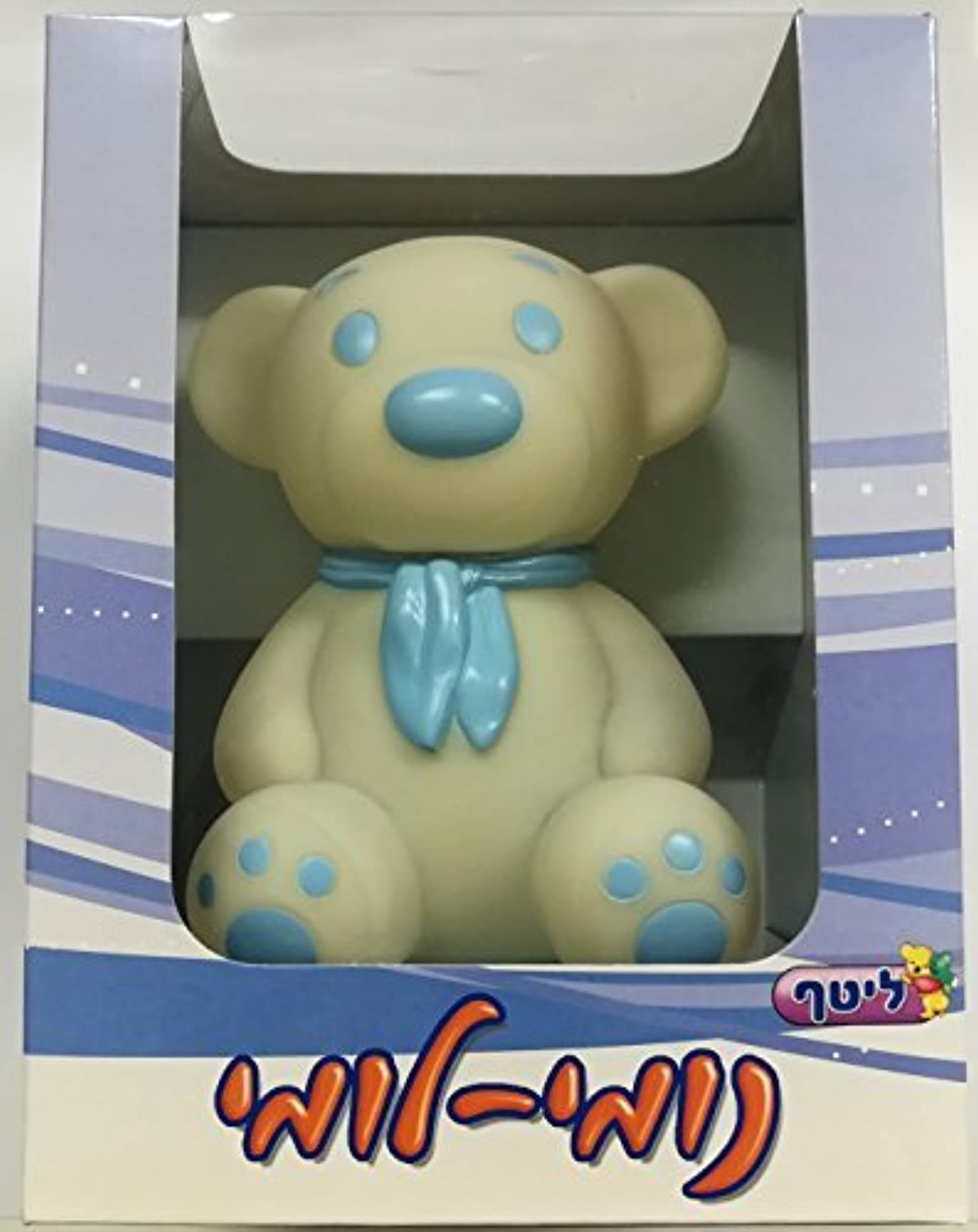 Nightlight Teddy Bear Night Light Playing Music and Changing Lights (light blue) [並行輸入品]