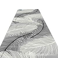 KKCF 廊下のカーペット切ることができます脱落防止滑り止め柔らかい耐摩耗性ファイバ 、2色 (色 : B, サイズ さいず : 1.2x1m)
