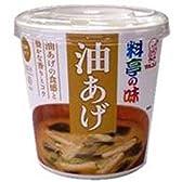 マルコメ カップ料亭の味 油あげ 1食×6個