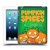 オフィシャル emoji® パンプキン・スパイス ハロウィーン・パロディーズ iPad 3 / iPad 4 専用ハードバックケース