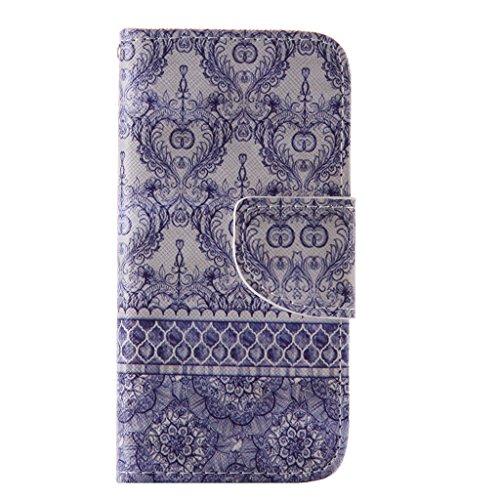 5a3ddb2b3b ... UNEXTATI iPhone 5 / iPhone 5s ケース 高級 合皮レザー 手帳型 ケース カバー カード