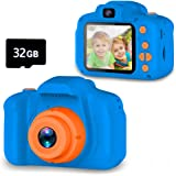 Seckton Upgrade Kids Selfie Camera, Best Birthday Gifts for Boys Age 3-9, HD Digital Video Cameras for Toddler, Portable Toy