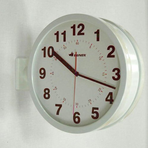 RoomClip商品情報 - DOUBLE FACES WALL CLOCK (アイボリー)