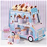 Talking Tables Ice Cream Party Decorations | Ice Cream Cart Party Décor | Great For Kids Party, Birthday Party And Summer Déc