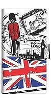 ファーウェイ Mate10 lite RNE-L22 スマホケース 手帳型 カバー 574 LONDON 横開き【ノーブランド品】