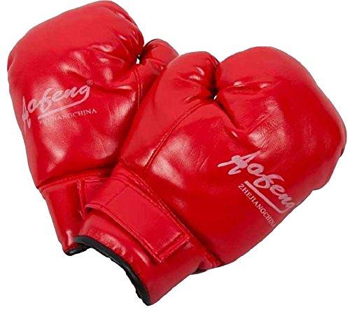 [SCGEHA] 복싱 글로브 좌우 세트 (boxercise)박서사이즈 휘트니스 스트레스 해소에 어른용・어린이용흑・빨강-