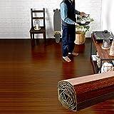 ウッドカーペット 6畳用 団地間6畳用 約243x345cm [ブラウン色] [GA-60シリーズ] [4色展開] DIY フローリング 木目 簡単 敷くだけ シート セルフリフォーム 低ホルマリン [並行輸入品]