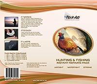 ティアエイドテープ - ダイビングブーツおよび防水アイテム用の修理キット、A&Bタイプのパッチ付き