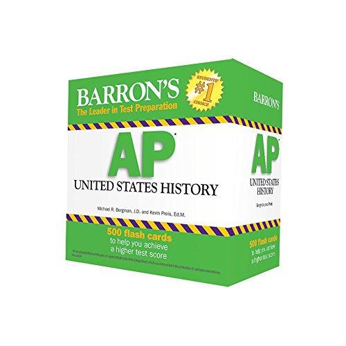Download Barron's AP US History Flash Cards (Barrons Test Prep) 1438076096