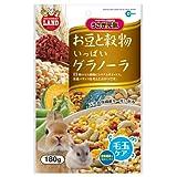 マルカン うさぎ元気 お豆と穀物いっぱいグラノーラ 180g ML-08