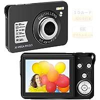 デジカメ デジタルカメラ コンパクトデジカメ カメラ 1080P 3000万画素 8Xズーム 2.4インチLCD コ…