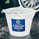 GORDON MILLER 洗車 バケツ おしゃれ ラバーバケツ 8L ホワイト