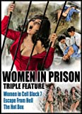 Women in Prison Triple Feature [北米版 DVD リージョン1] Escape From Hell(女囚SEX集団)/ Women In Cell Block 7 / The Hot Box [Import]