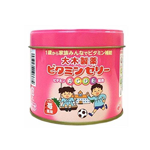 1歳からのビタミンゼリー イチゴ風味160粒...