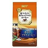 UCC おいしいカフェインレス 水出しアイスコーヒー (35g×4P) 140g