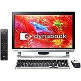 東芝 オールインワンデスクトップパソコン dynabook D71プレシャスブラック(WIN8.1Update 64Bit/i7-4710MQ/8GB/ブルーレイディスクドライブ/21.5型/Office Home & Business Premium搭載) PD71RBP-HHA