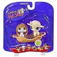 Lamb & Bunny Pet Pairs - Littlest Pet Shop (リトルペットショップ) #185 #186(並行輸入)