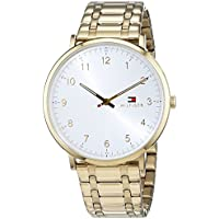 Tommy Hilfiger Men 1791337 Year-Round Analog Quartz Gold Watch