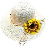 帽子 レディース アウトドア 夏 春 UVカット 帽子 ハット 漁師帽 日焼け防止 つば広 紫外線対策 大きいサイズ ひまわり 可愛い ハット 旅行用 日よけ 夏季 ビーチ 無地 ハット レディース 女性 ROSE ROMAN