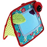 Prettyia Baby Floor Mirror Toy Sensory Toy for Baby Toddler Play & Self-Discovery