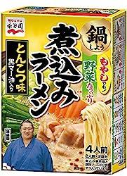 永谷園 煮込みラーメン とんこつ味 2人前×2回分×3箱
