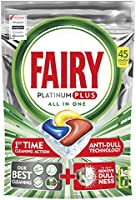 Fairy Platinum Plus Dishwasher Tablets Lemon