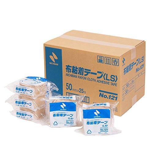 ニチバン 布テープ 50mm×25m 30巻入 121-50AZ30P 黄土
