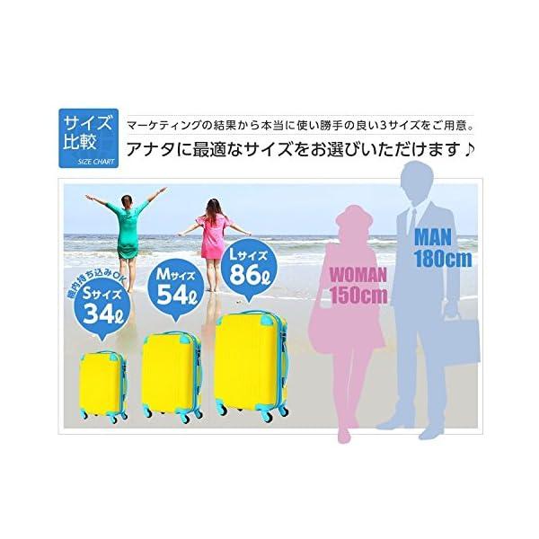 (トラベルデパート) 超軽量スーツケース TS...の紹介画像4