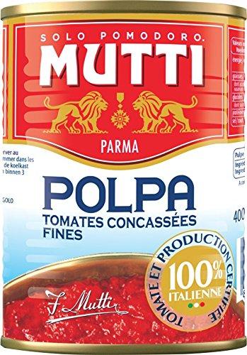 ムッティ ファインカットトマト 400g