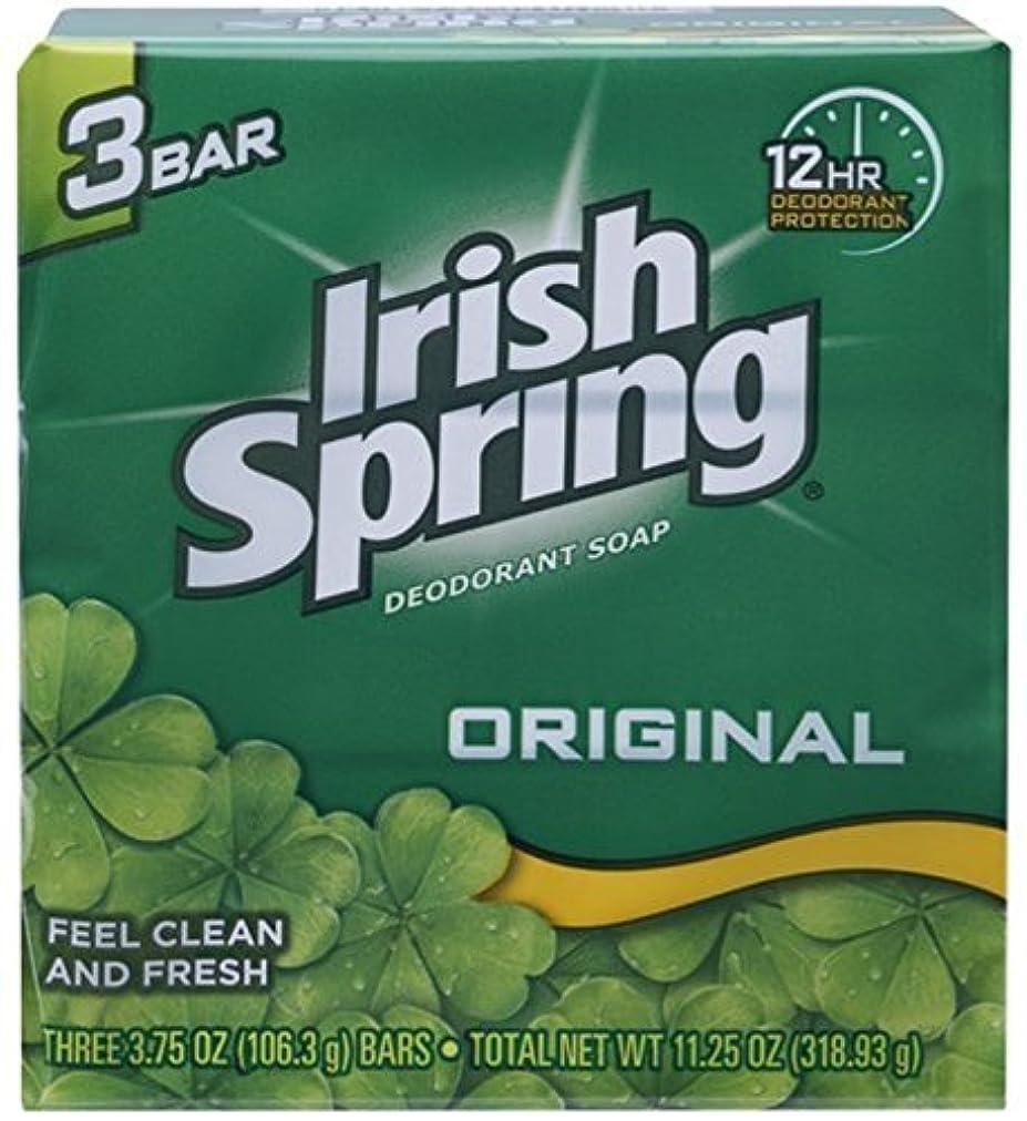 センチメートル排出ペインIrish Spring デオドラント石鹸、オリジナル、3.75オズバー、3 Eaは(12パック)
