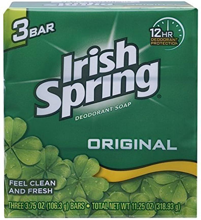混乱した断言する焼くIrish Spring デオドラント石鹸、オリジナル、3.75オズバー、3 Eaは(12パック)