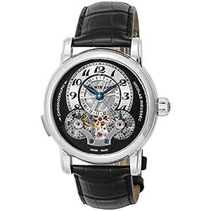 [モンブラン]MONTBLANC 腕時計 Nicolas Rieussec ブラック/シルバー文字盤 クロノグラフ 104981 メンズ 【並行輸入品】