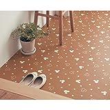 [ベルメゾン] ディズニー 拭けるフリーカットシート ミッキーマウス ブラウン サイズ(cm):約90×180