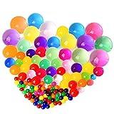 KUUQA ぷよぷよボール 水で膨らむ おもちゃ セット 巨大 スーパーボールすくいセット 150粒