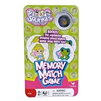 Squinkies Memory Match Game in Storage Tin with Figure [並行輸入品]