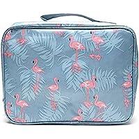 Makeup Bag Travel Case Cosmetic Bag Flamingo,Portable Travel Camping Organizer