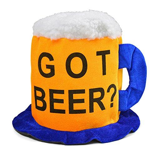 おもしろ ビアハット ビール 帽子 コスプレ 仮装 パーティ...