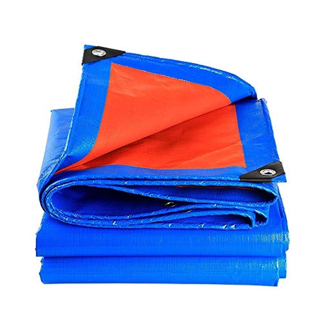 遊びます長方形きらきらGXYAWPJ ヘビーデューティターポリン、高密度ポリエチレン、二重ラミネート - 2x2m、160g / M 2、青 - 100%防水、UV耐性 (サイズさいず : 5×6m)