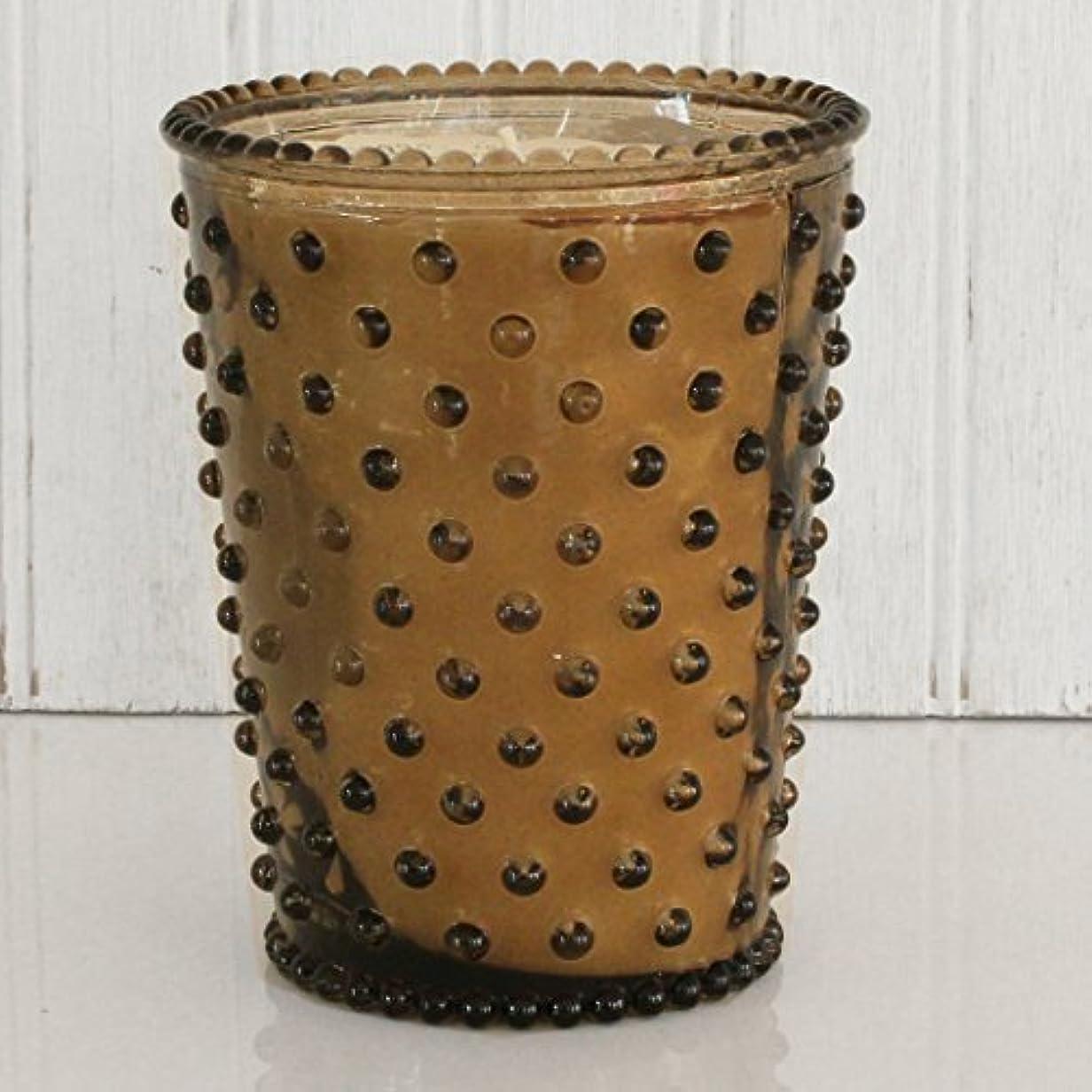 先祖祝う材料Simpatico キャンドル ホブネイルガラス ナツメグ #12 16オンス