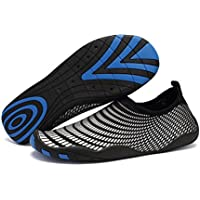FANTURE Multifunctional Barefoot Shoes Men Women Quick-Dry Water Shoes Aqua Socks For Beach Pool Surf Yoga