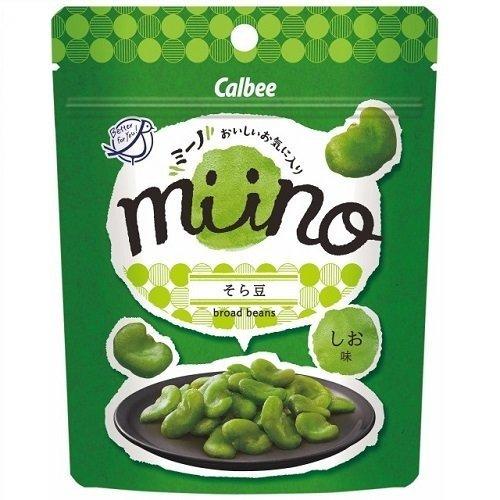 【販路限定品】カルビー miino そら豆しお味 28g×6袋