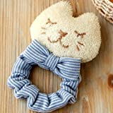 (ハマナカ) ベビー 赤ちゃん おもちゃ の 手作りキット ねこシュシュのがらがら ※オーガニックコットン 使用