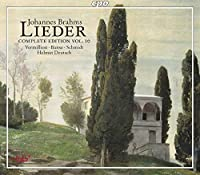Brahms: Lieder, Complete Edition, Vol. 10 by Vermillion (2013-01-29)