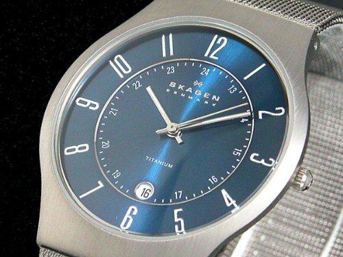 スカーゲン SKAGEN 腕時計 ウルトラスリム チタン 2...