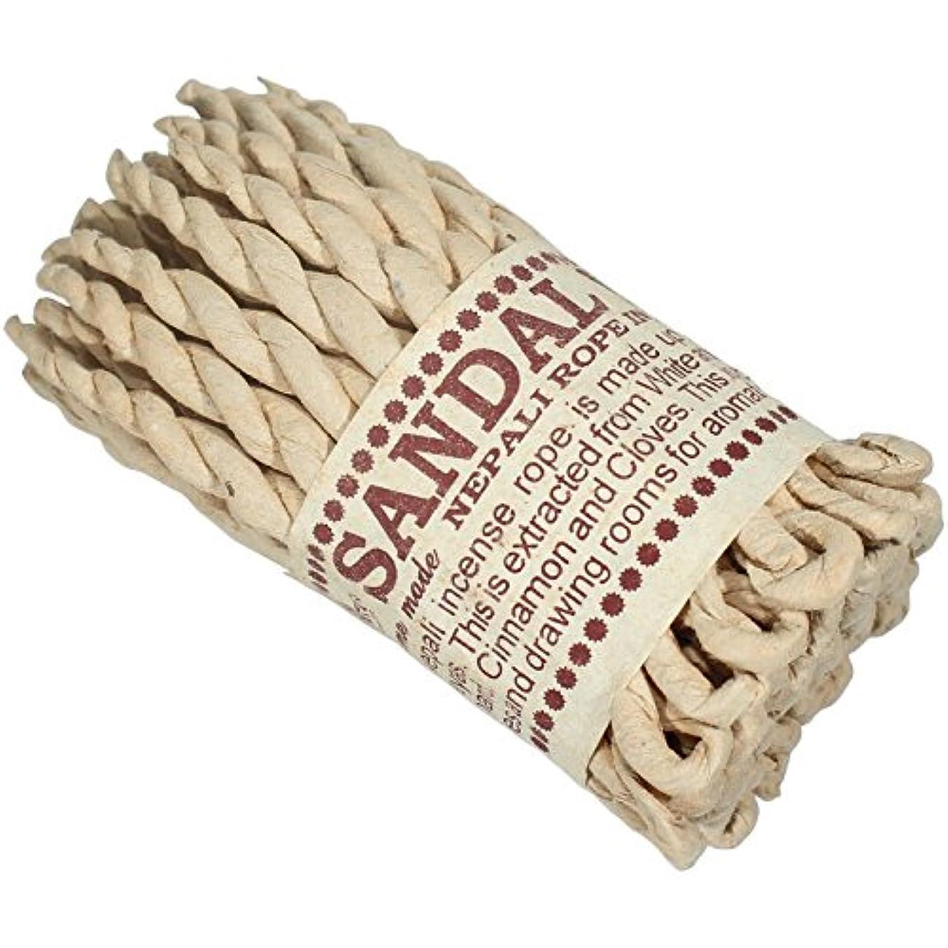 ジャンク小麦粉個性ネパール語サンダルウッドRope Incense