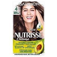 [Nutrisse] ガルニエNutrisse 4暗いBdパーマネントヘアダイ - Garnier Nutrisse 4 Dark Bd Permanent Hair Dye [並行輸入品]