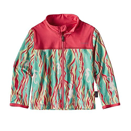 PATAGONIA(パタゴニア) Baby Little Sol Rash Jacket (80-110)  ラッシュガード 3T:97cm,SFTG RED